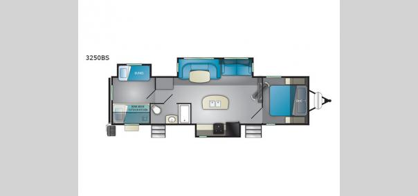 Wilderness 3250BS Floorplan