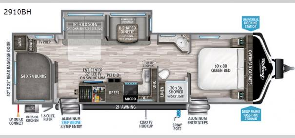 Imagine 2910BH Floorplan