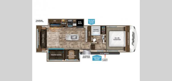 Reflection 150 Series 295RL Floorplan