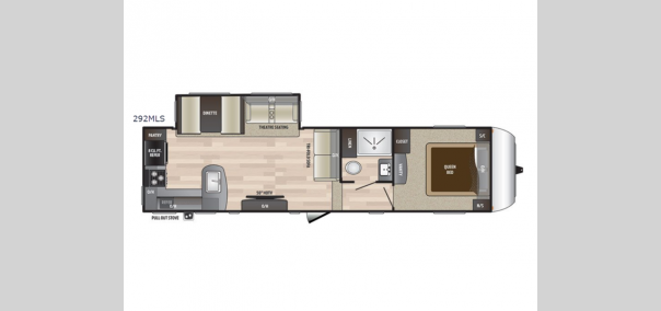 Hideout 292MLS Floorplan