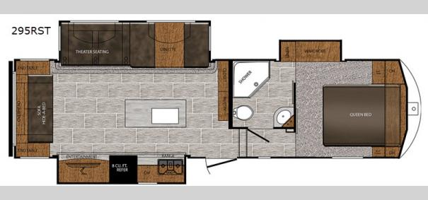 Crusader 295RST Floorplan