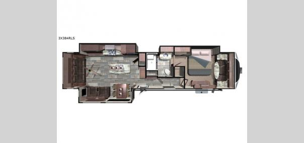 Open Range 3X 384RLS Floorplan
