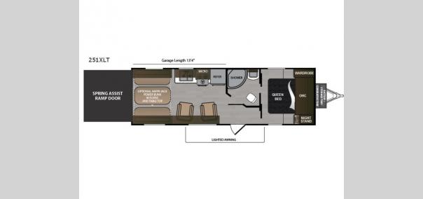 Rubicon XLT 251XLT Floorplan