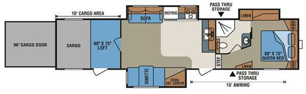 Inferno 3710T Floorplan