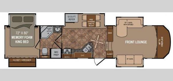 Infinity 3750FL Floorplan Part 12