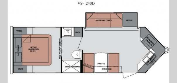 ViewFinder Signature V-24SD Floorplan