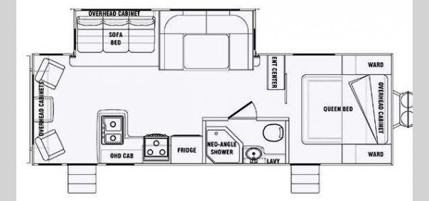 Panther 26RLS Widelite Floorplan