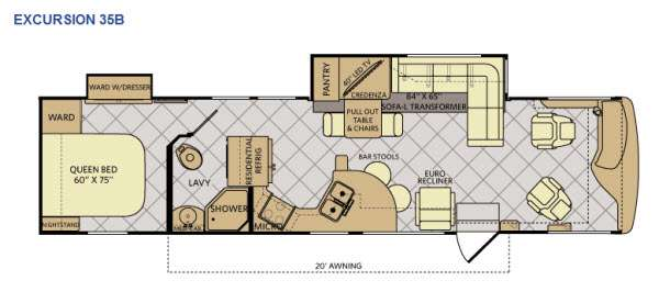 Excursion 35B Floorplan