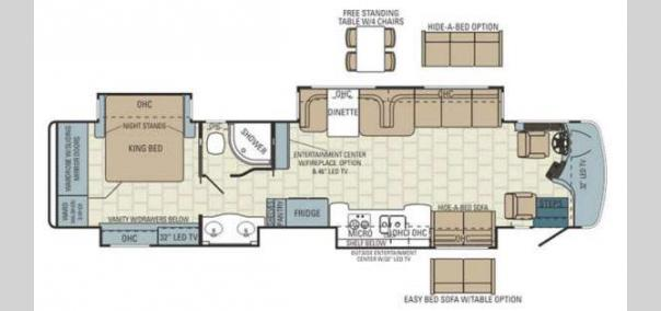 Aspire 42DLQ Floorplan