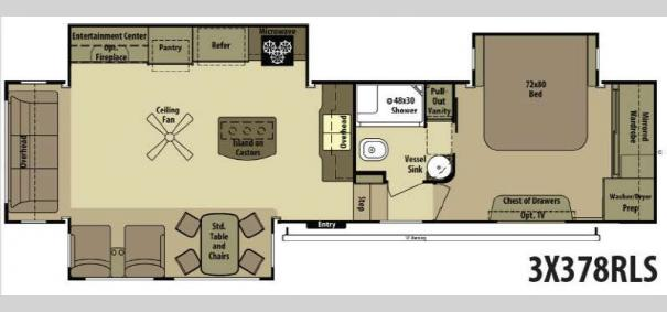 3X 378RLS Floorplan