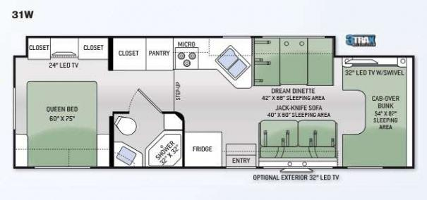 Four Winds 31W Floorplan