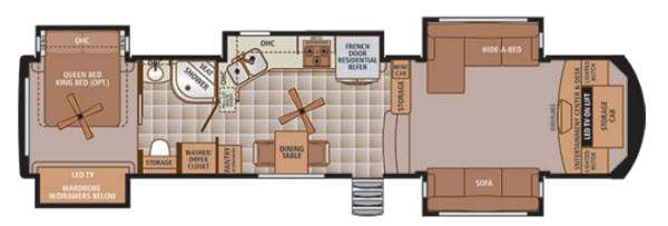New 2015 Forest River RV Trilogy 38FL Fifth Wheel at Fun Town RV