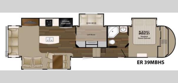 ElkRidge 39MBHS Floorplan