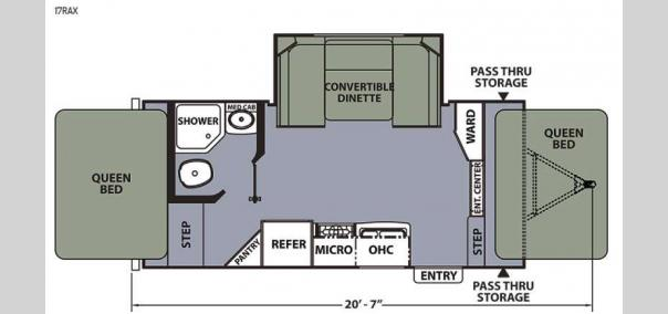 Apex Ultra-Lite 17RAX Floorplan