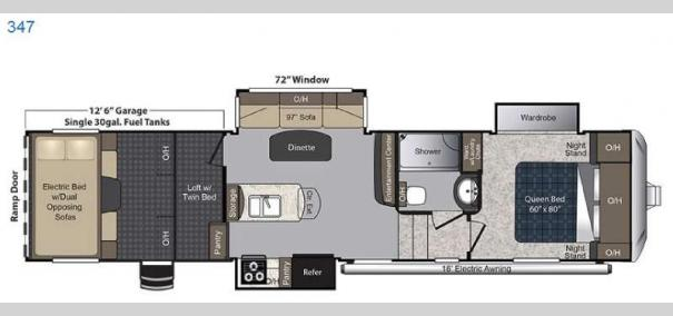 Carbon 347 Floorplan