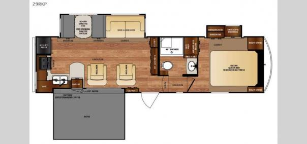 Wildcat 29RKP Floorplan