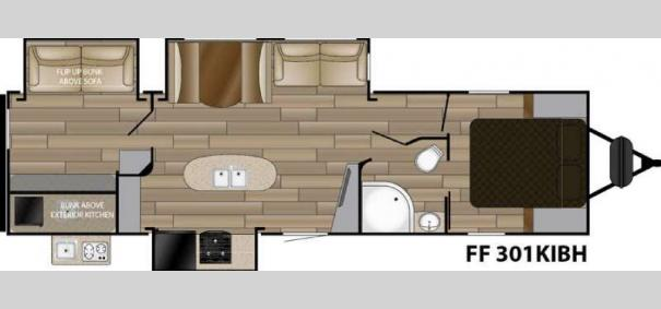 Fun Finder Signature Edition F301KIBH Floorplan