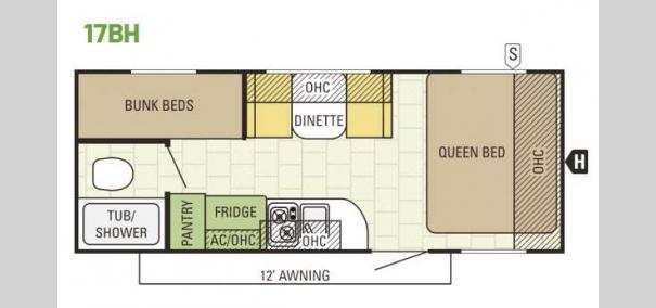 Launch 17BH Floorplan
