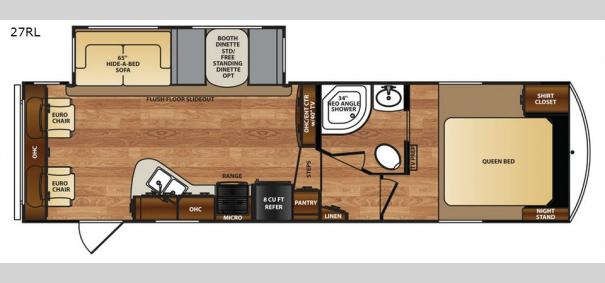 Wildcat 27RL Floorplan