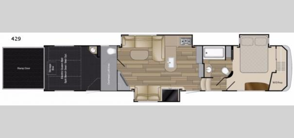 Road Warrior 429 Floorplan