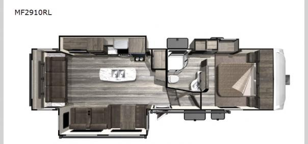 Mesa  Ridge Lite MF2910RL Floorplan