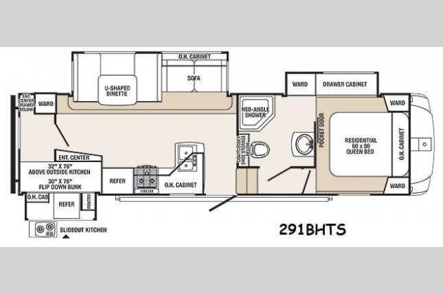 New 2014 Palomino Sabre Silhouette 291BHTS Fifth Wheel At Fun Town