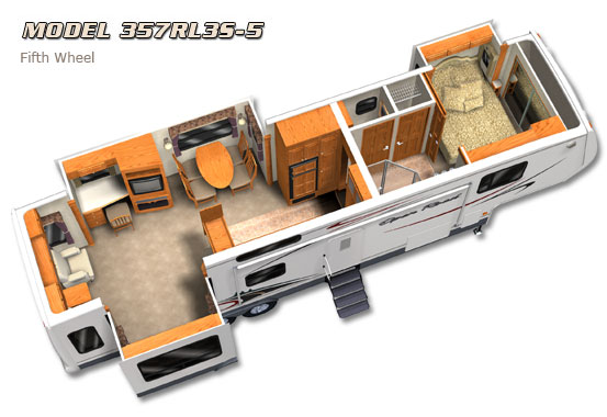 Used 2007 Pilgrim Open Road 357RL3S-5 Fifth Wheel At Fun