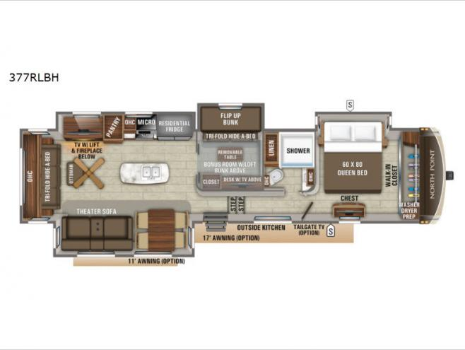 Bsea Applies Work Product Protection To >> New 2020 Jayco North Point 377rlbh Fifth Wheel At Fretz Rv