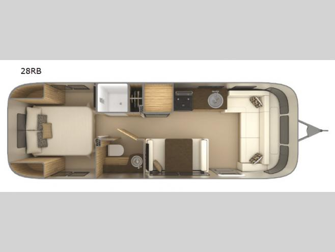 New 2019 Airstream RV Flying Cloud 28RB Travel Trailer at