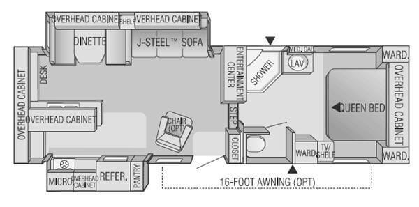 Used 2001 Jayco Eagle 293 RKS Fifth Wheel at Parkway RV ... Jayco Eagle Popup Wiring Diagram on