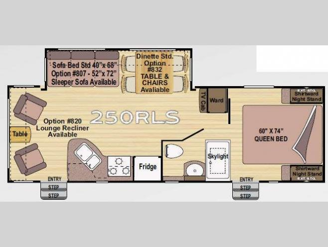 Used 2011 Outdoors Rv Wind River 250rls Travel Trailer At