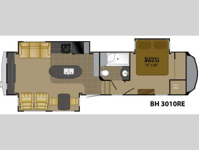 Used 2013 Heartland Bighorn 3010re Fifth Wheel At Dick Gore S Rv World Jacksonville Fl