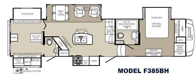 Used 2013 Palomino Columbus F385BH Fifth Wheel at Crestview RV ...