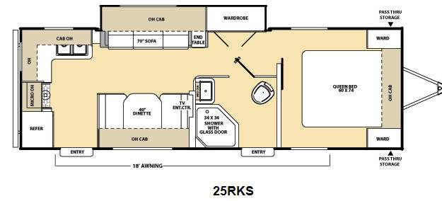 Used 2014 Coachmen Rv Catalina Deluxe Edition 25rks Travel Trailer At Dick Gore S Rv World