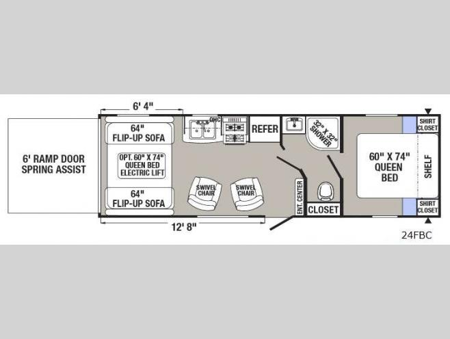 New 2018 Palomino Puma XLE Lite 24FBC Toy Hauler Travel Trailer at  Pin Trailer Connector Wiring Diagram For Palomino Rv on wiring diagram for 6 pin connector, wiring 7 pin trailer wiring diagram, wiring diagram for 4 pin trailer connector, wiring diagram for 12 pin trailer connector, wiring diagram for 9 pin trailer connector, wiring diagram for 5 pin trailer connector,