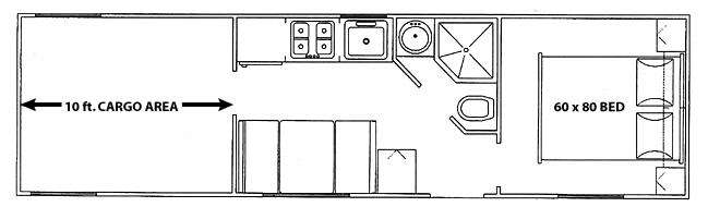 Floorplan - 2009 Forest River RV Work and Play 30WR
