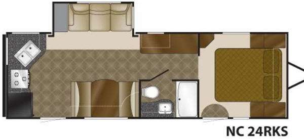 Floorplan - 2011 Heartland North Country 24RKS