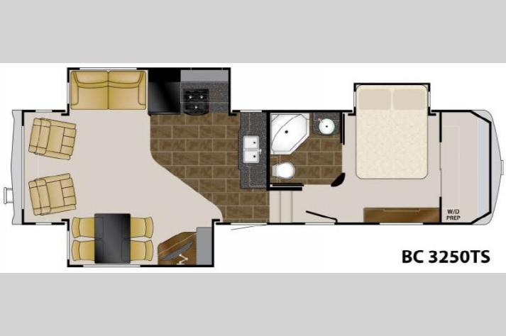 Floorplan - 2011 Heartland Big Country 3250 TS