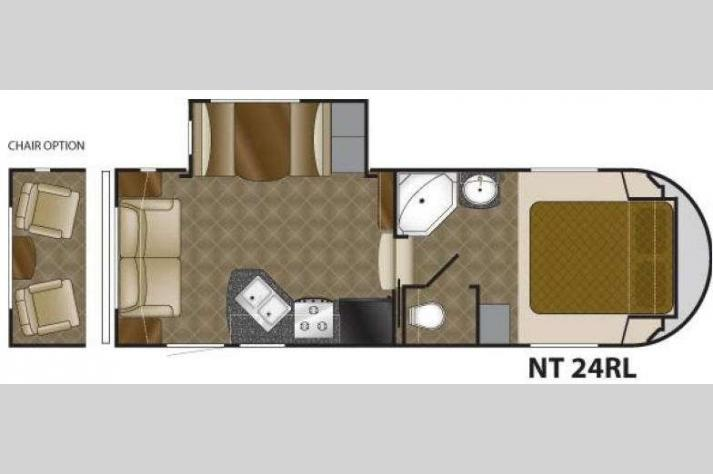 Floorplan - 2011 Heartland North Trail 24RL