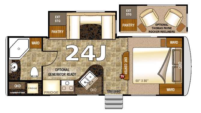Arctic fox travel trailer floor plans thefloors co for Arctic house design