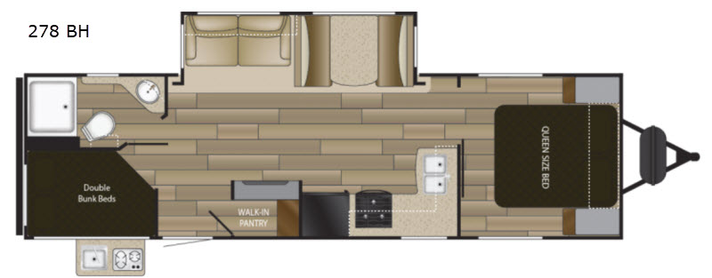 New 2018 Heartland Sundance Ultra Lite 278 Bh Travel