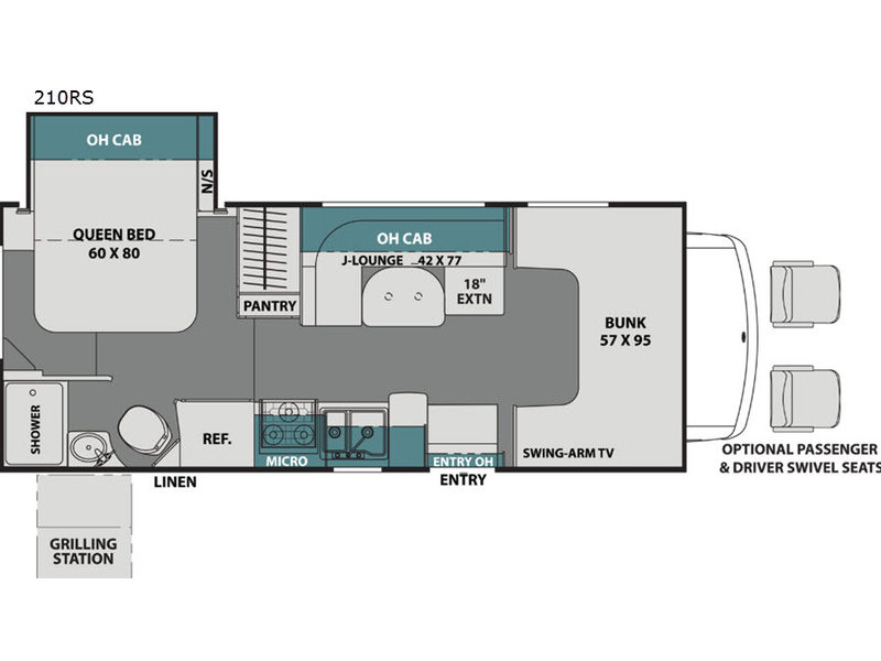 Leprechaun Motor Home Class C | RV Sales | 15 Floorplans