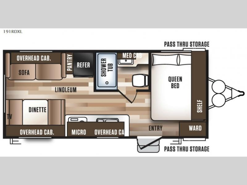 Wildwood X Lite Travel Trailer Rv Sales 19 Floorplans
