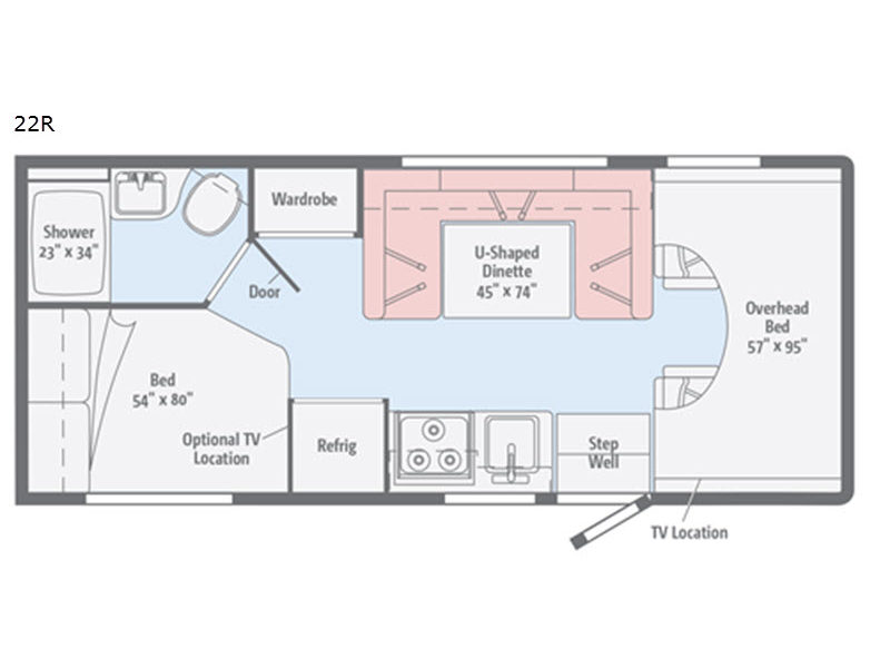 Minnie Winnie Motor Home Class C Rv Sales 6 Floorplans