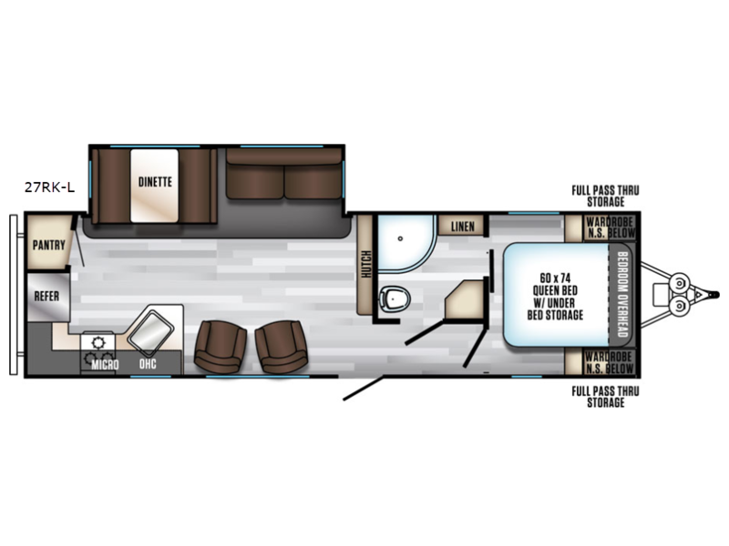 Wolfe Camper Sales >> New 2019 Forest River Rv Cherokee Alpha Wolf 27rk Travel Trailer At