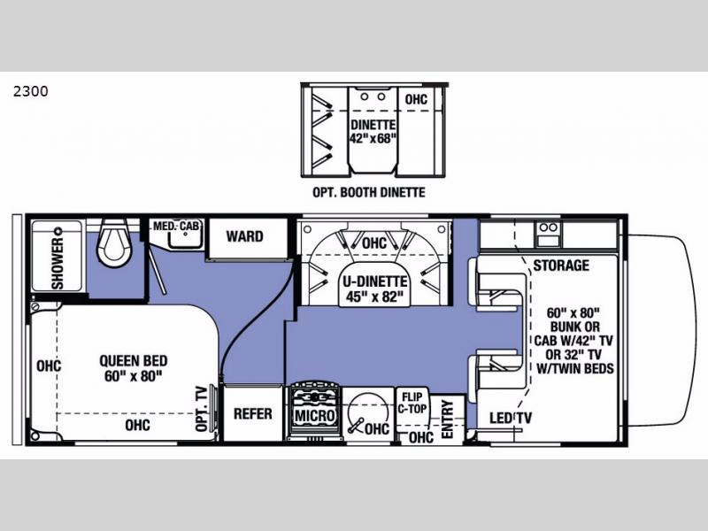 New 2018 Forest River RV Sunseeker LE 2350LE Chevy Motor Home Class C at Campers Inn | Kingston ...