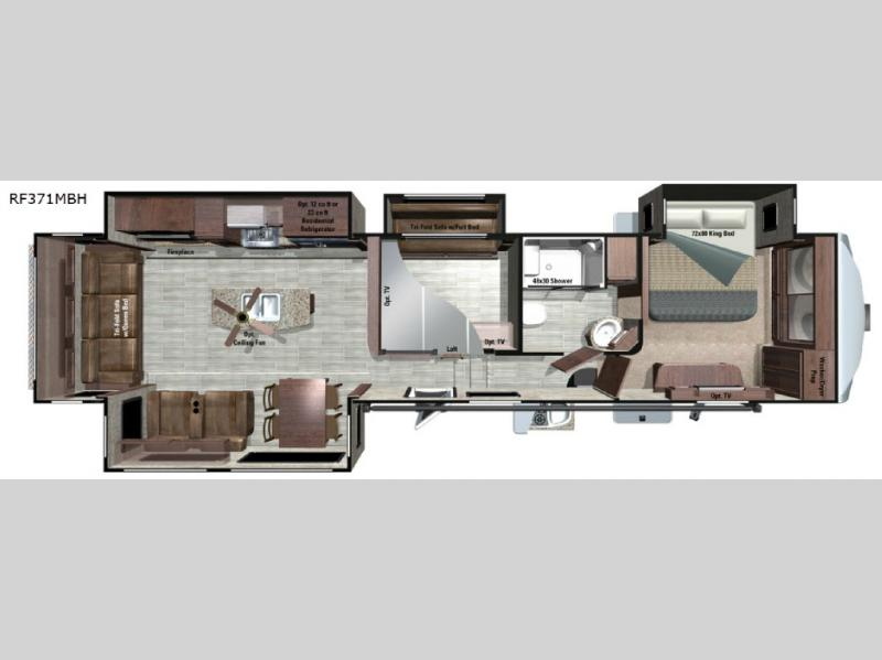 Open Range Roamer Fifth Wheel Rv Sales 7 Floorplans