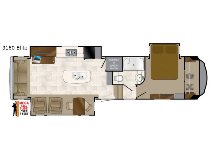 Floorplan Title New 2019 Heartland Bighorn 3160