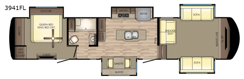 Leduc Rv Dealers >> New Redwood RV Redwood 3941FL Fifth Wheel for Sale | Review Rate Compare Floorplans - RVingPlanet