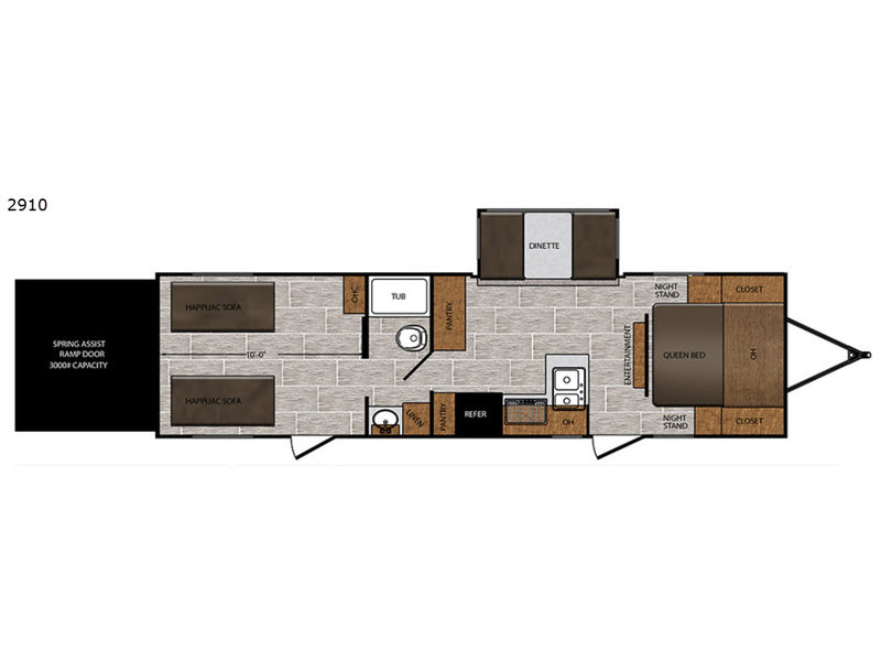 Used 2019 Prime Time Rv Fury 2910 For Sale 188235